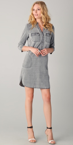 Tibi Denim Shirtdress