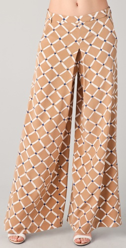 Tibi Nadia Wide Leg Pants