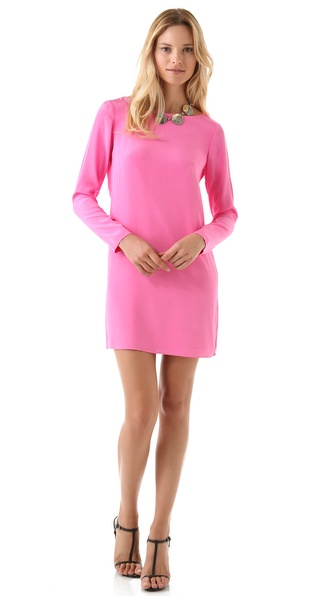 Tibi Solid Shift Dress