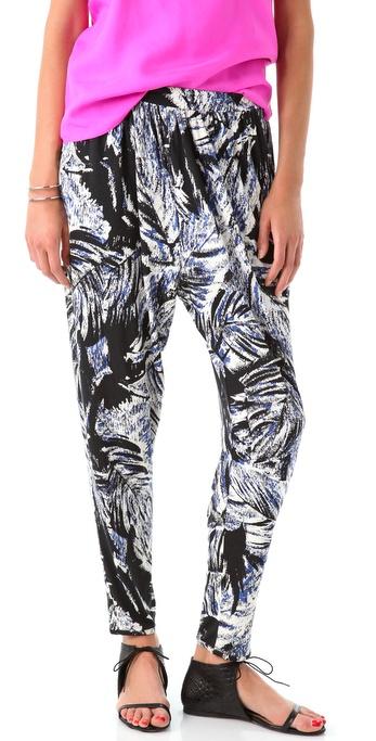 Tibi Tahiti Easy Pants