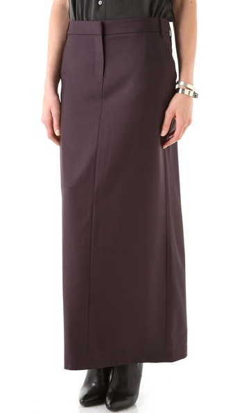 Tibi Jagger Long Pencil Skirt