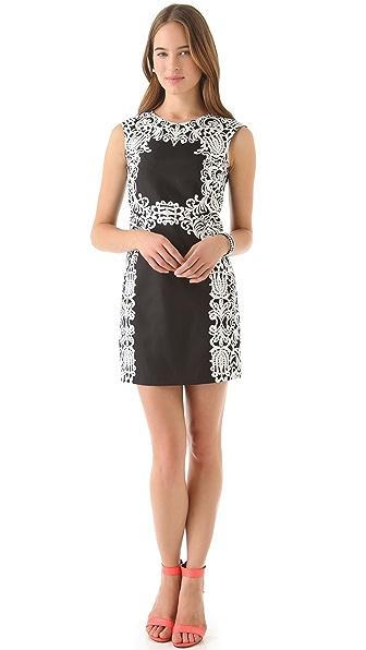 Tibi Violette Sleeveless Dress