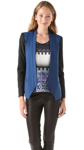 Tibi Jagger Suiting Blazer