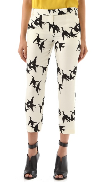 Tibi Paloma Printed Pants
