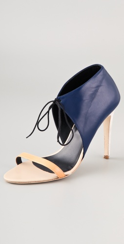 Tibi Stella Colorblock Sandals