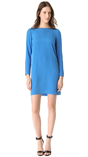 Tibi Sold Silk Shift Dress