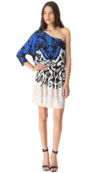 Tibi Jasmine One Shoulder Dress