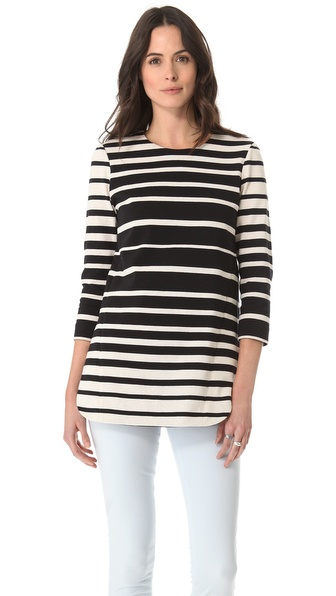 Tibi Stripe Tunic