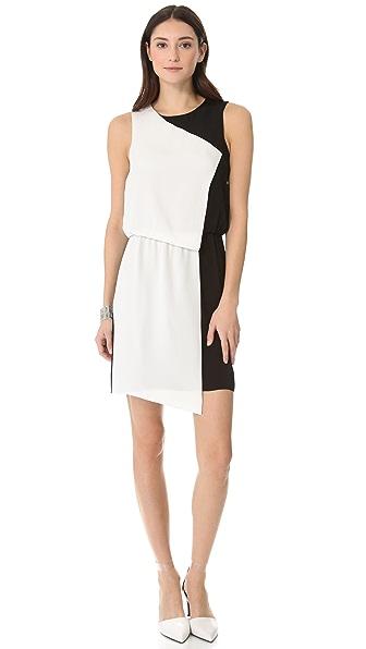 Tibi Colorblock Sleeveless Dress