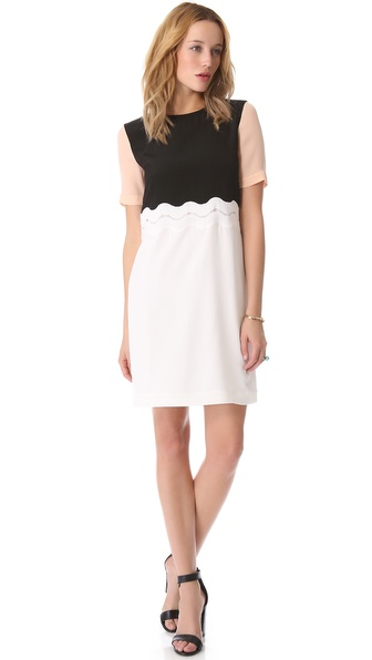 Tibi Peek-A-Boo Dress