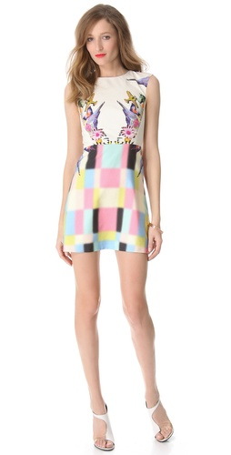 Tibi Eyespy Sleeveless Dress