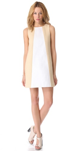 Shop Tibi Amelie Basket Weave Dress and Tibi online - Apparel, Womens, Dresses, Day_to_Night,  online Store