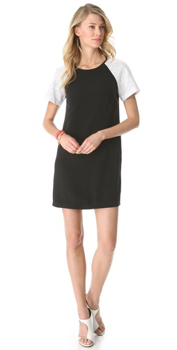 Shop Tibi Carey Embroidery Dress and Tibi online - Apparel, Womens, Dresses, Day_to_Night,  online Store