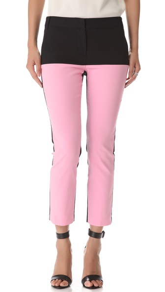 Tibi Milo Colorblock Pants