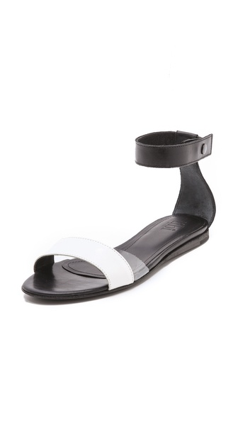 Tibi Brady Flat Sandals