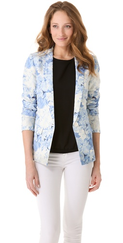 Shop Tibi Daisies Jacket and Tibi online - Apparel,Womens,Jackets,Blazer, online Store