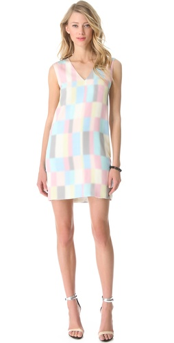Shop Tibi Vertex Shift Dress and Tibi online - Apparel, Womens, Dresses, Day_to_Night,  online Store