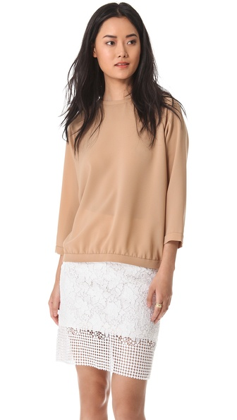 Tibi Alexa Easy Shirt