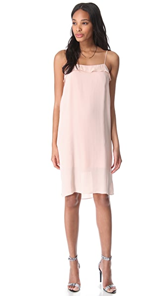 Tibi Gauze Tank Dress