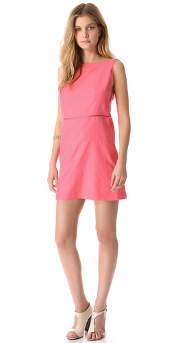 Tibi Sleeveless Shift Dress