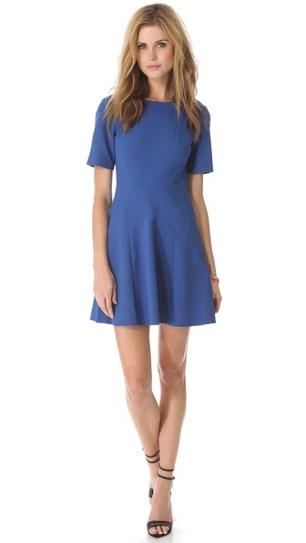 Tibi Anson Seamed Dress