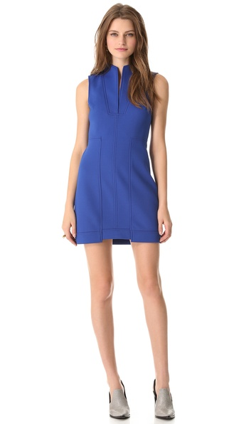 Tibi Bonded Sculpted Dress