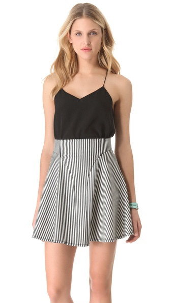 Tibi Classic Racer Back Camisole