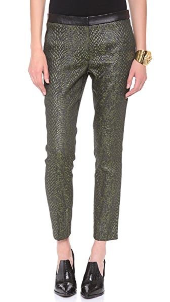 Tibi Beatle Pants with Leather Band