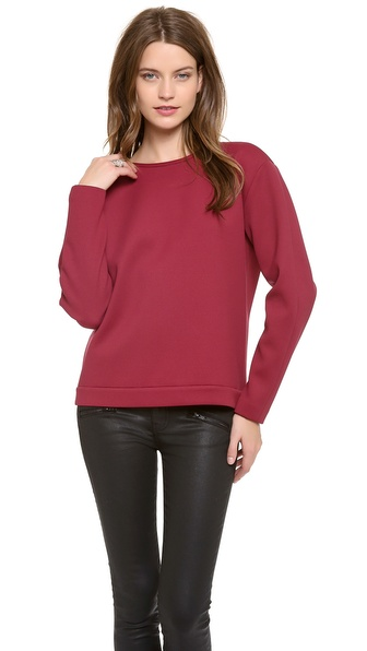 Tibi Sculpted Sweatshirt