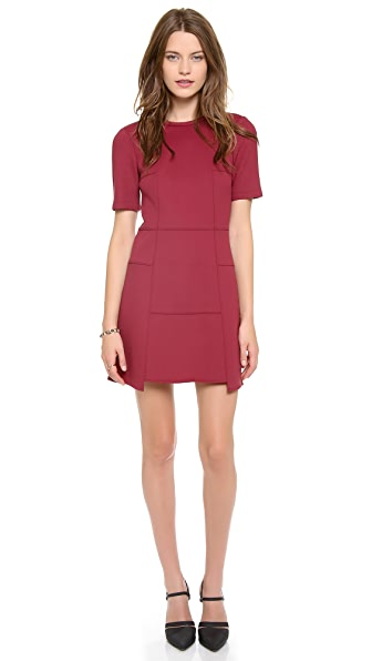 Tibi Short Sleeve Dress