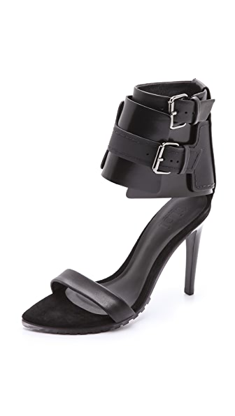 Tibi Riley Ankle Cuff Sandals