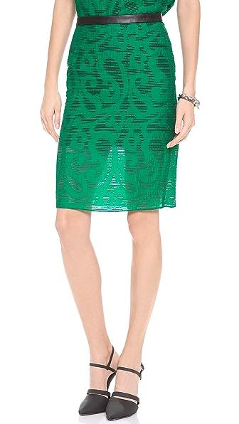 Tibi Organza Skirt
