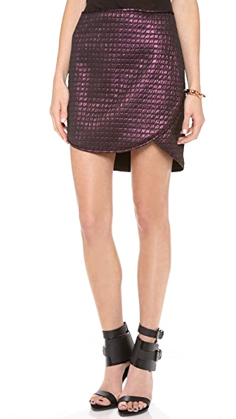 Tibi Quilted Skirt