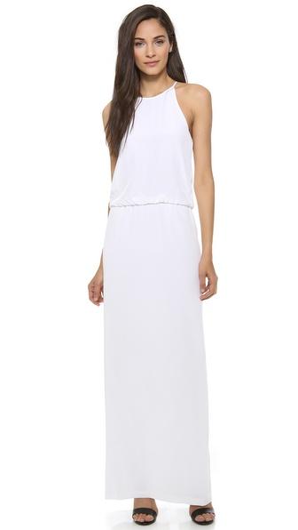 Tibi Long Halter Dress