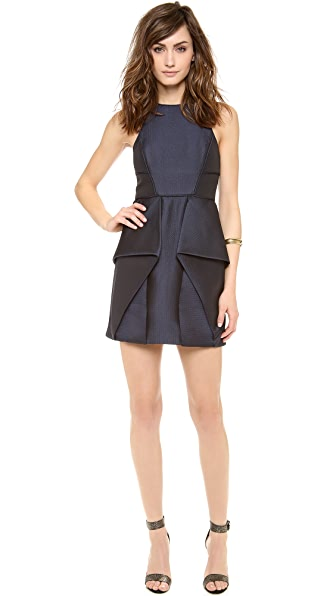 Tibi Sleeveless Jacquard Dress