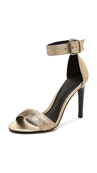 Tibi Carine Single Band Sandals