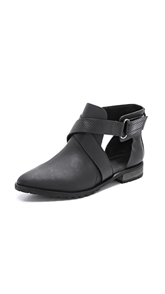 Tibi Gail Cutout Ankle Booties