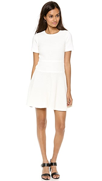Tibi Vika Crochet Combo Dress