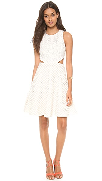 Tibi Sleeveless Cutout Dress