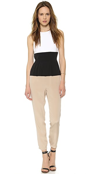 Tibi Colorblock CDC Jumpsuit