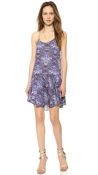 Tibi Ruffle Cami Dress