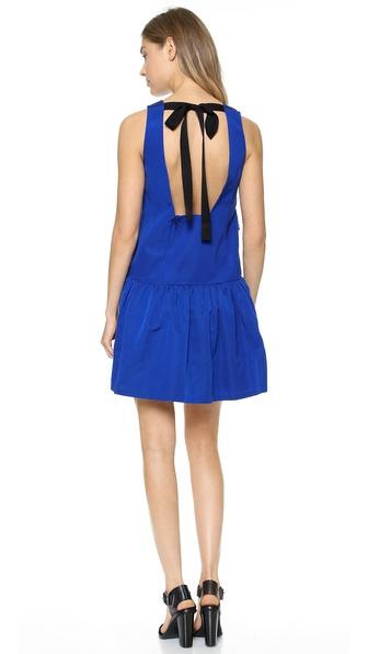 Tibi Sleeveless Flirty Dress