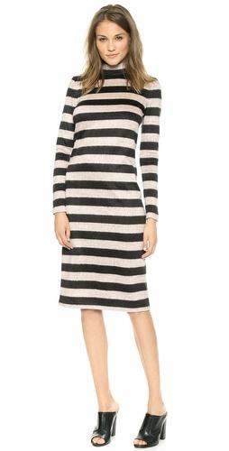 BCBG black cowl neck sweaterdress | ShoppingandInfo.com