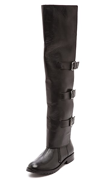 Tibi Gia Flat Tall Boots