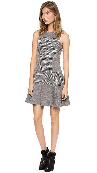 Tibi Chadwick Knit Flirty Dress