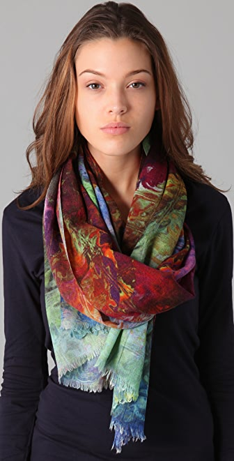 Tilo Abstract Scarf
