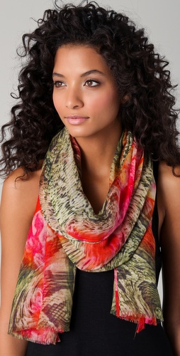 Tilo Snake Print Scarf