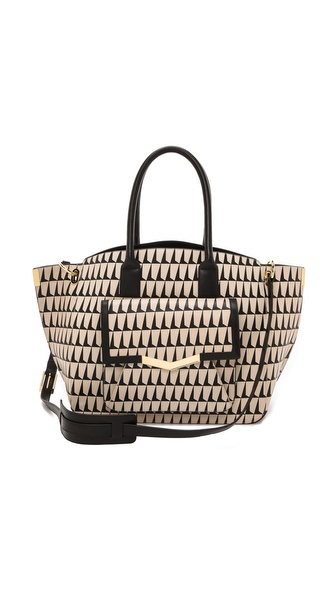 Time's Arrow Printed Jo Tote