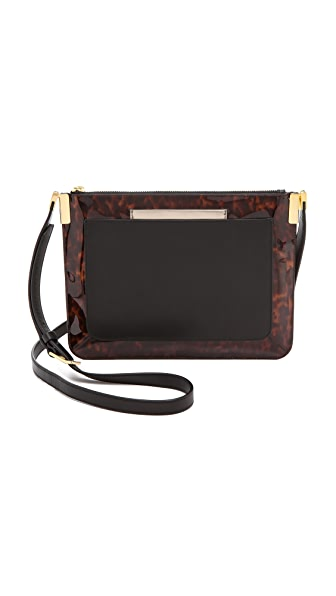 Time's Arrow Ishi Patent Cross Body Bag