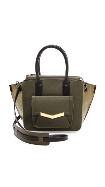 Time's Arrow Saffiano Mini Jo Tote